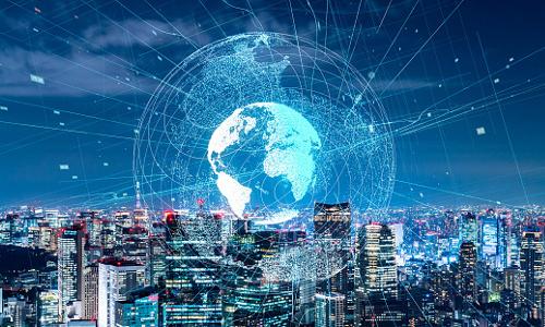 Illustration of the global network.